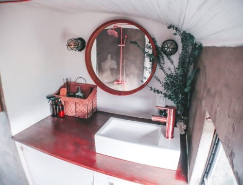 We've rounded up our top five favorite skoolie bathrooms! Check out our picks for the best bathroom designs and layouts within the skoolie community!   sincewewokeup.com   Since We Woke Up